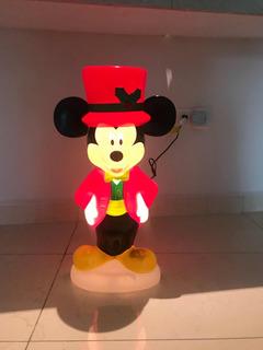 Inflables Navidad Mickey O Minnie Mouse Lámpara Exterior