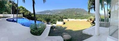 (crm-4510-3229) Cadp Magnífica Casa Con Alberca Con Vista Al Mar, Gym Y Jardín