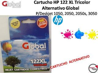 Cartucho Alternativo Marca Global Para Hp 122 Xl Tricolor