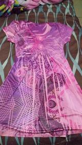 Vestido Corto Rosa,barato