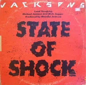 Imagem 1 de 2 de Vinil 12 Single, Promo The Jacksons State Of Shock