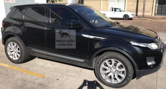 Range Rover Evoque Pure 2.0 4p - 15/15 - Preta, Único Dono