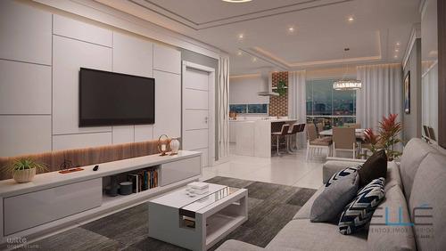 Imagem 1 de 10 de Apartamento Com 4 Dormitórios À Venda, 142 M² Por R$ 1.536.263 - Centro - Balneário Camboriú/sc - Ap0198