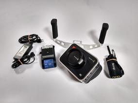 Camera Blackmagic Bcp 4k + Bateria Extra + Camera Handles