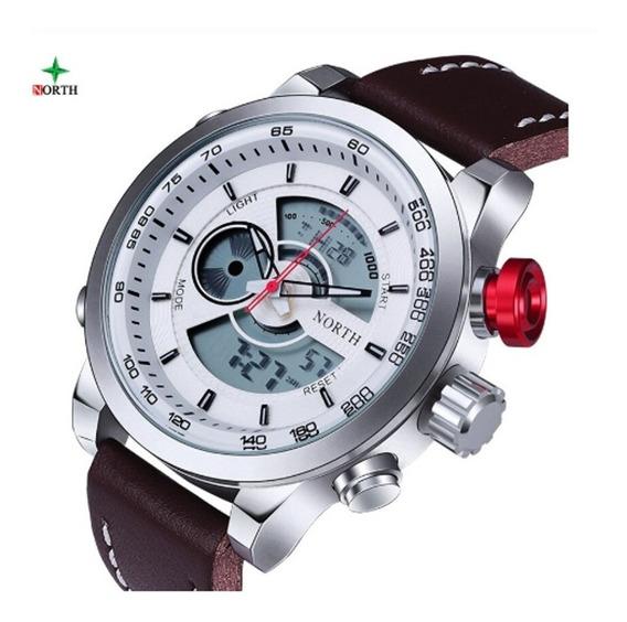 Relógio North Importado, Original Com Caixa Personalizada