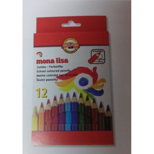 Lápiz Color Jumbo X12 Koh I Noor