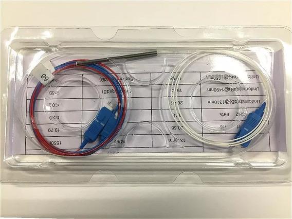 Par Splitter Óptico Desbalanceado 1x2 Sc/upc1310/1490/1550nm