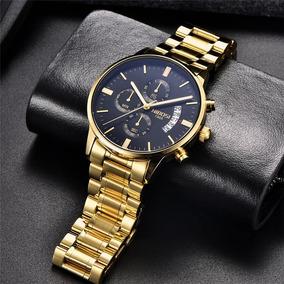 Relógio Nibosi Masculino De Luxo Funcional Original Barato