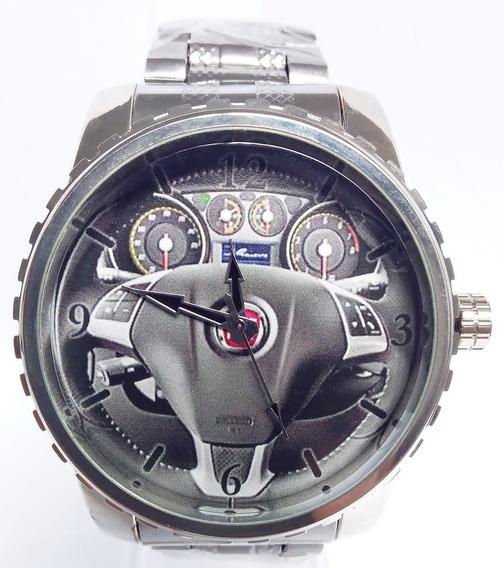 Relógio Pulso Personalizado Foto Painel Volante Punto Tjet