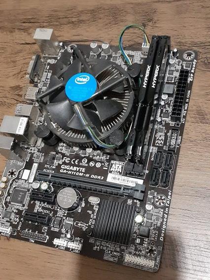 Kit Upgrade I3-6100, H110m-h-ddr3, 12gb-ram-hyperx