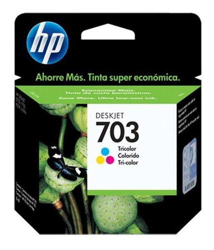 Cartucho De Tinta Hp 703 Tricolor