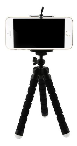 Imagen 1 de 6 de Tripode Flexible 360° Para Camara Celular Y Gopro 8 7 6 5 4