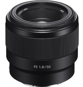 Lente Nacional Sony 50mm F1.8 E-mount Ff A6300 A6400 A6500