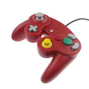 Controle Joystick Game Cube Wii Vermelho