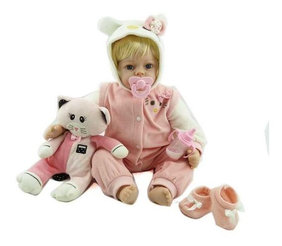Bebê Reborn Victoria 55 Cm Pronta Entrega