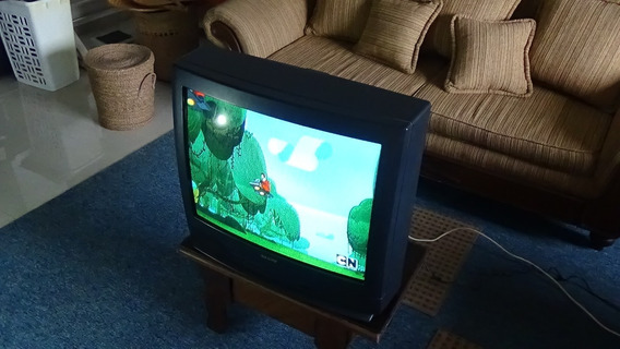 Tv Convencional A Color De 27 Sanyo 100% Funcional