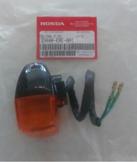 Sinaleira Diant. Dir. Nxr125/150-original Honda-09/13