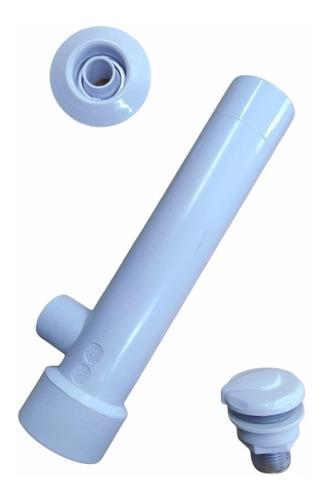 Imagen 1 de 4 de Tee Jet Venturi De 1.5  Con Boquillas Aire Y Agua Kit 2 Piez