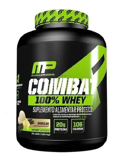 Combat 100% Whey Protein Mp 1,8kg Muscle Pharm Full