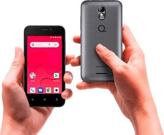 Celular Quantum Dual E E1 8gb Para Chip Movistar Android 4 Negro & Blue