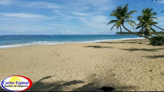 Terreno Con Playa En Venta En Miches, Republica Dominicana