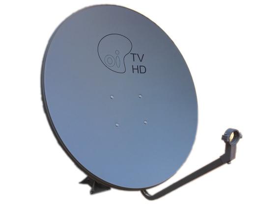Antena Offset Banda Ku 75 Cm Bedinsat Oitv Completa