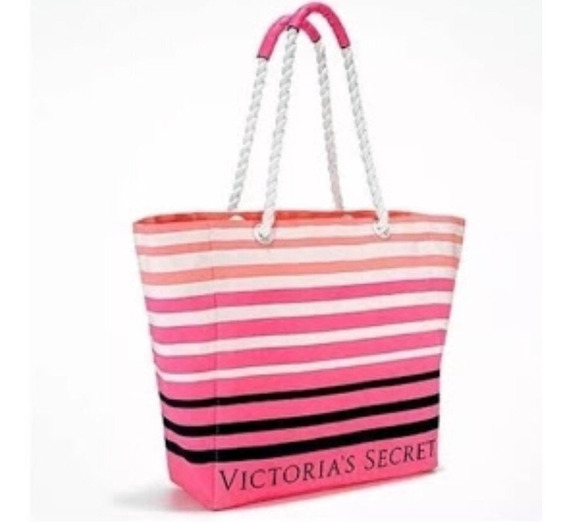 Bolso Playero Rosa Victoria´s Secret Original Nuevo!