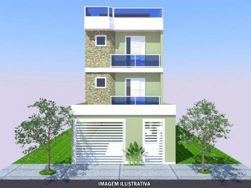 Imagem 1 de 1 de Apartamento 2 Quartos Santo Andre - Sp - Bairro Campestre - Rm101ap