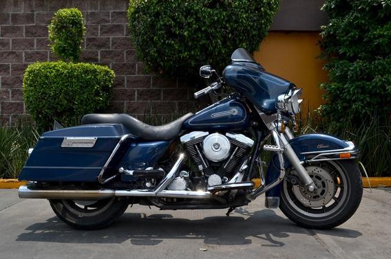 Poderosa Harley Electra Glide 1340 Emplacada Motor Evo