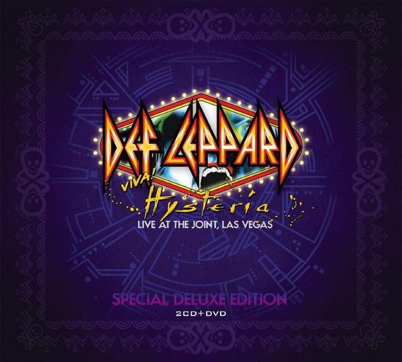 Def Leppard Viva! Hysteria, Las Vegas (2 Cd + Dvd)