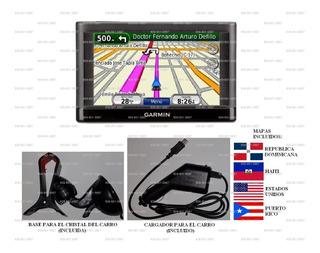 Gps Garmin Navegador Nuvi 42lm Con Mapa Rd, Haiti, Usa Y Pr