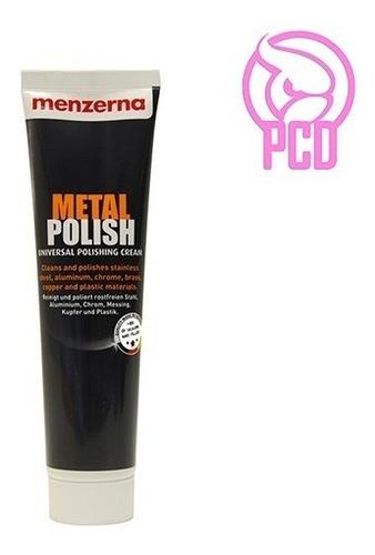 Menzerna Metal Polish De 125g - Pule Metal, Cromo - Pcd