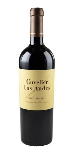 Vino Cuvelier Grand Malbec 750ml.
