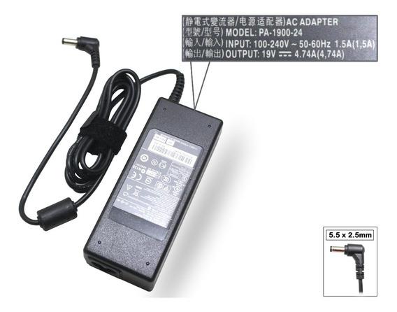 Fonte Carregador Compatível Asus 19v 4.74a Adp-90yd Adp-90cd