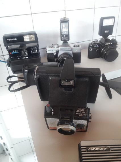 Vendo Cameras Antigas Polaroid,praktica,yashica