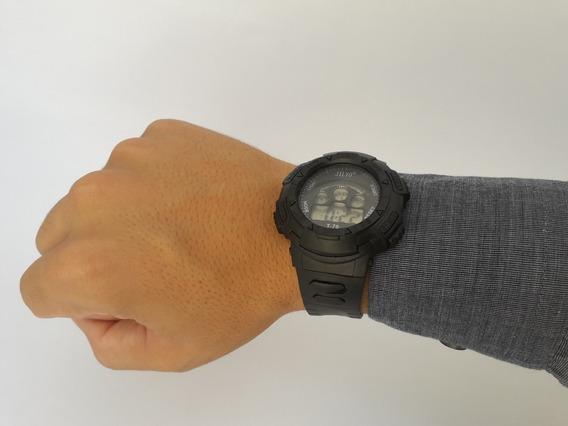 Relógio Digital Simples, Ótimo Para O Dia-dia