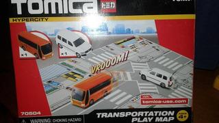 Miniatura Set Tomica Bus E Suv Hypercity Lacrado !!!