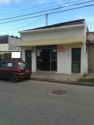 Salão Comercial Na Praia + Casa Atrás Para Venda Em Itanhaém