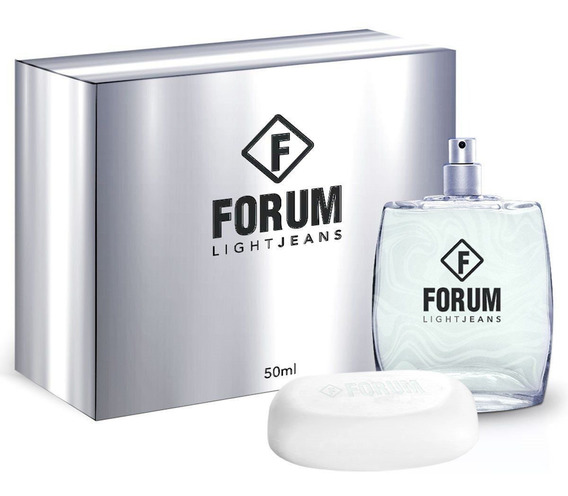 Kit Forum Light Jeans ( Perfume 50 Ml + Sabonete 80g )