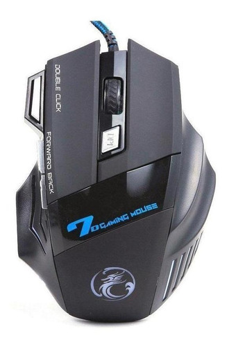 Mouse Usb Óptico Led 2400 Dpis X7 E-sports Estone
