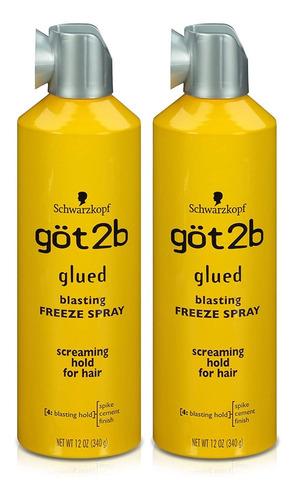 Peluca Got2b Glued Blasting Freeze Hairspray - Spray Para El
