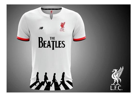 Camiseta Liverpool The Beatles Abbey Road Lennon 2020