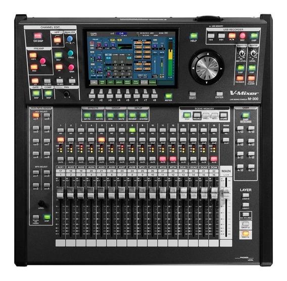 Mixer Mesa Digital Roland 32 Canais M-300 Show Room