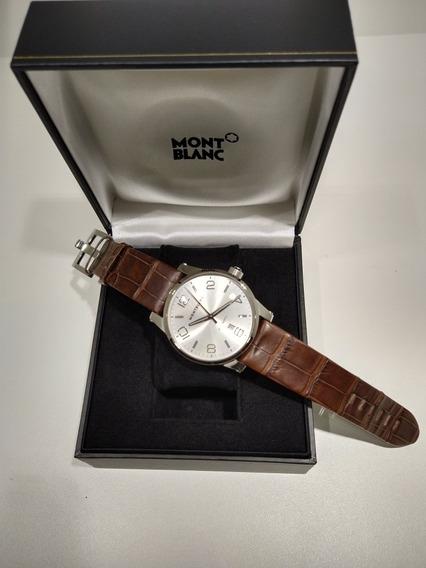 Relógio Montblanc Timewalker Large Automatic Md 09675 Novo