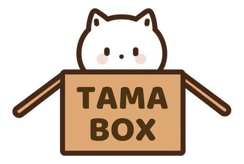 Tama Box Caixa C/ Doces Salgadinhos Lamens Bebidas Asiáticas