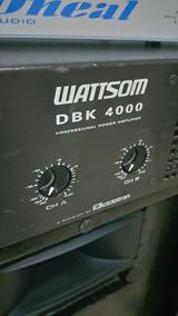 Potência Dbk 4000. Top.