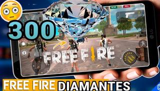 300 Diamantes Free Fire Y Premios Mas