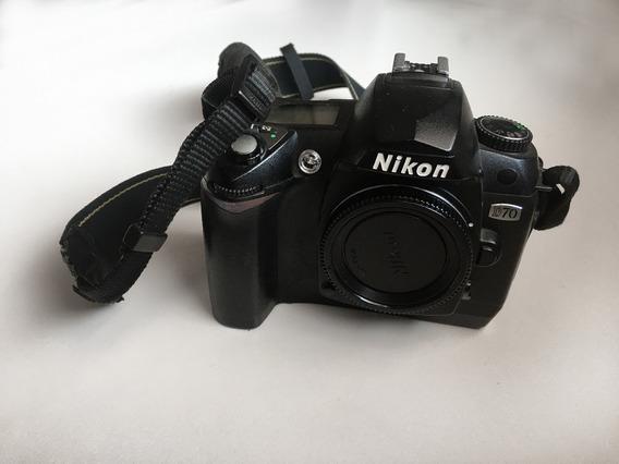 Câmera Nikon D70 (com Video!)