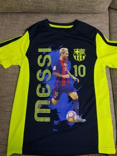 Camiseta De Barcelona Para Niño Talle L