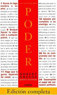 Las 48 Leyes Del Poder - Robert Greene - Editorial Atlantida